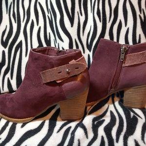 Dolce Vita Plum Boots